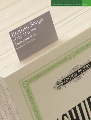 English Songs of the 17th and 18th centuries