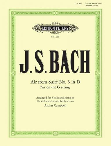 \'Air on the G String\' from Orchestral Suite