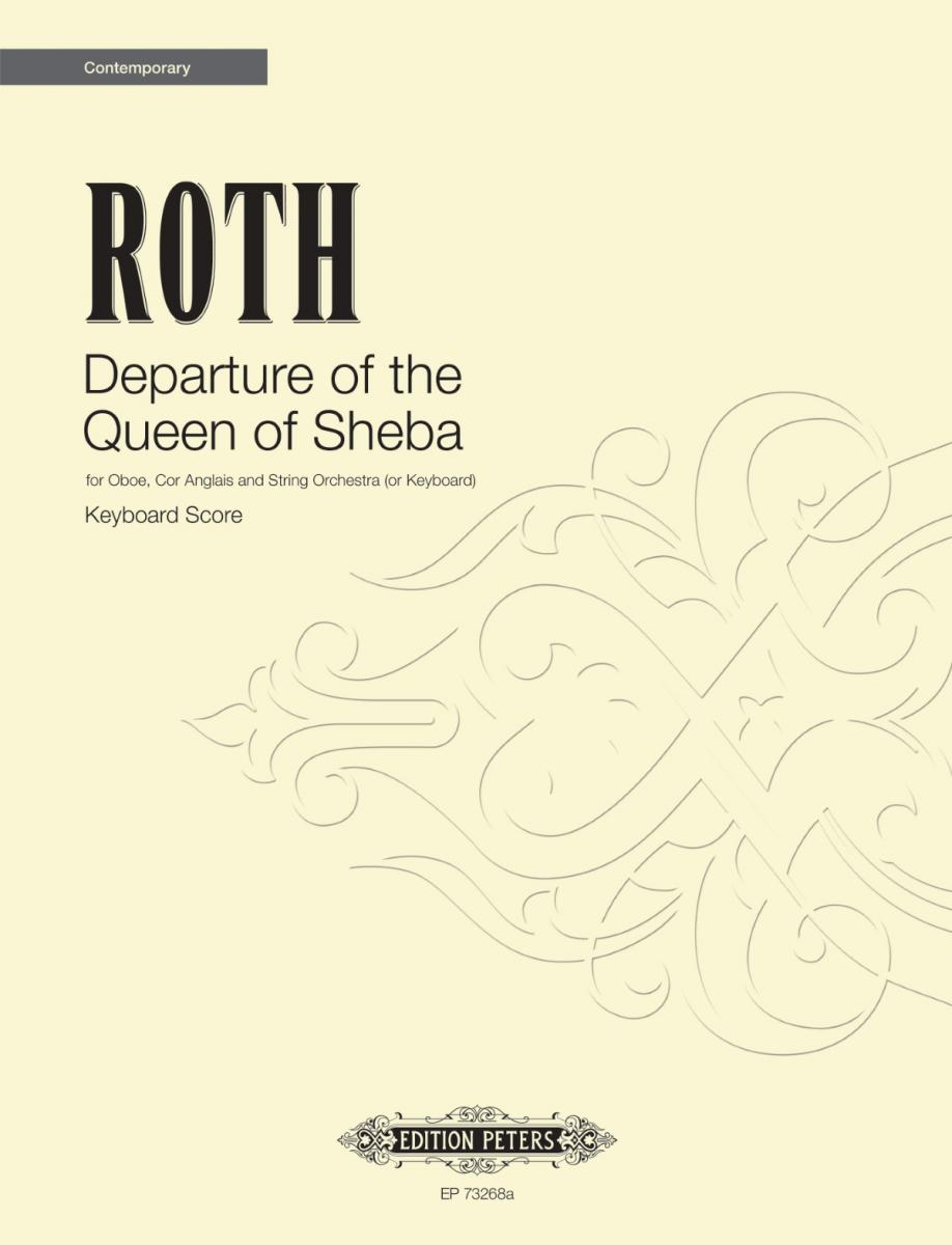 Departure of the Queen of Sheba (keyboard version)