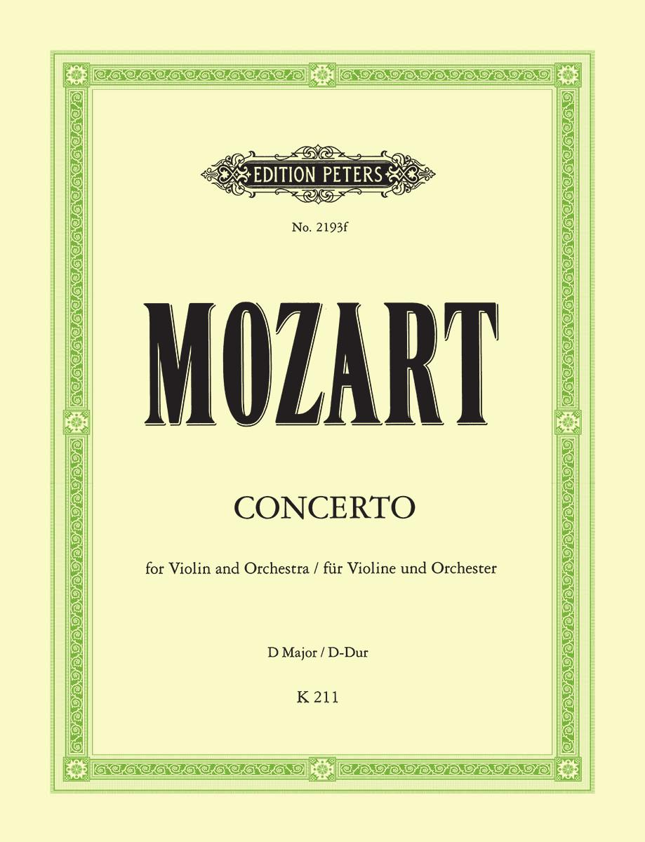 Concerto No  2 in D K211 | Edition Peters UK