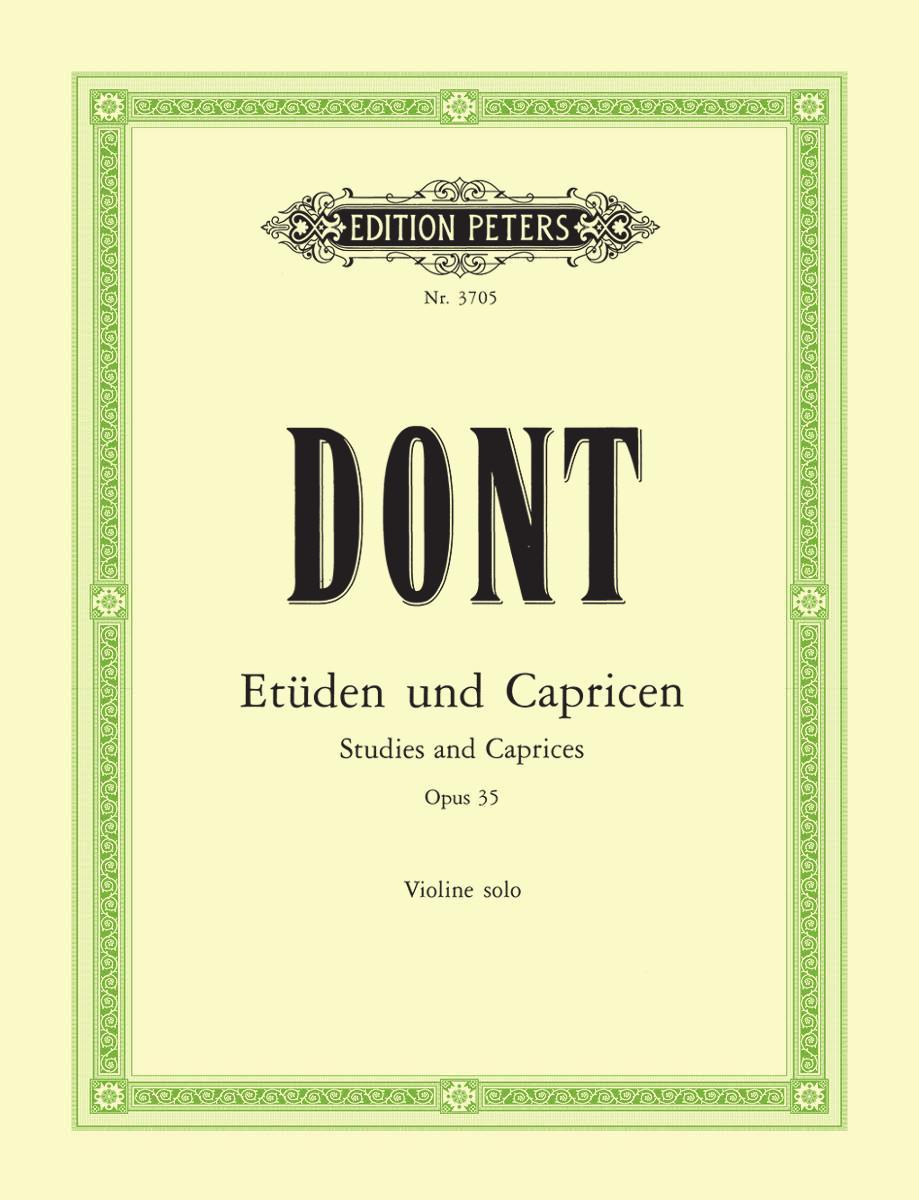 Etudes and Caprices Op. 35