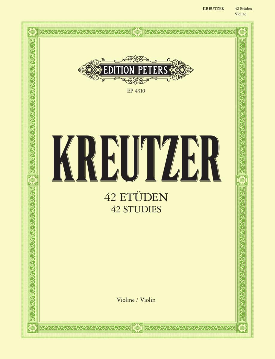 42 Etudes or Caprices   Edition Peters UK