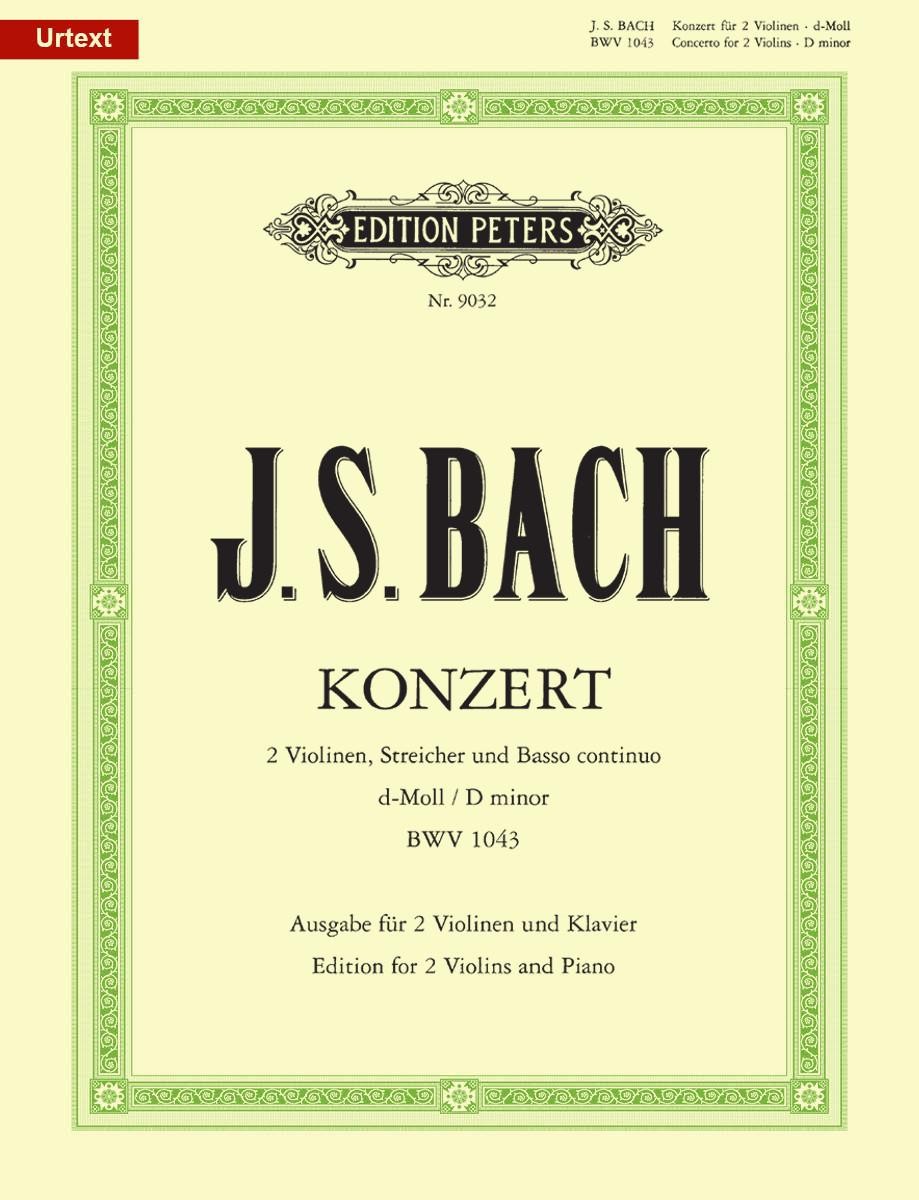 Concerto for 2 Violins and Strings in D minor BWV 1043 | Edition