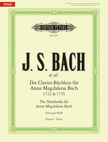 The Notebooks for Anna Magdalena Bach 1722 &