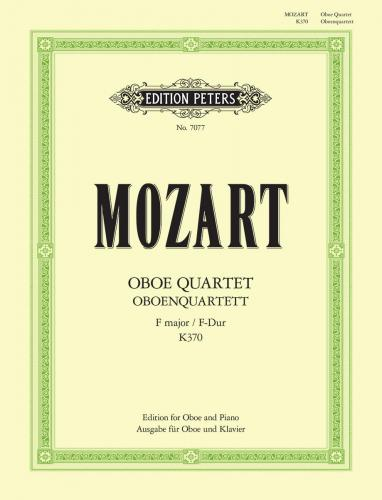 Oboe Quartet in F K.370 (arranged for Oboe and Piano)