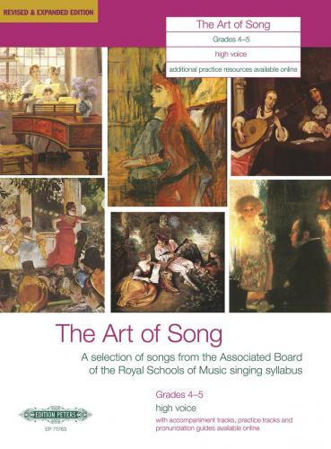 The Art of Song, Grades 4–5 (High Voice)