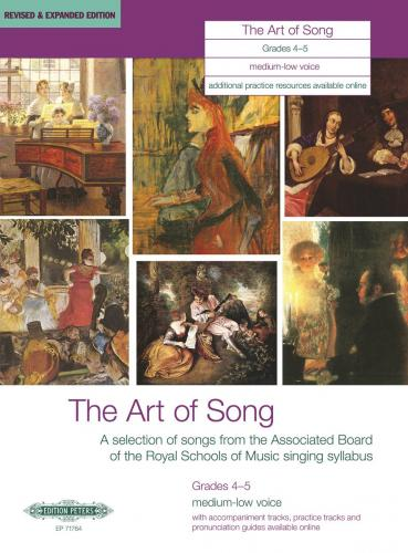 The Art of Song, Grades 4–5 (Medium/Low Voice)