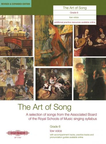 The Art of Song Grade, 6 (Low Voice)