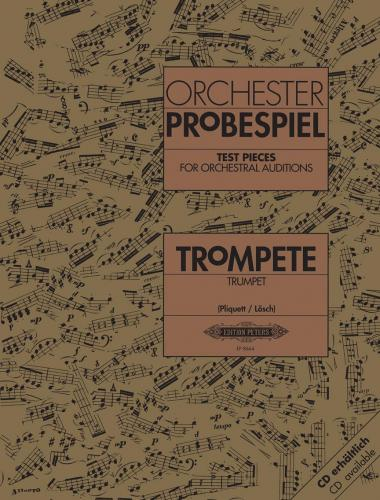 Test Pieces For Orchestral Auditions Trumpet Musical Instruments & Gear