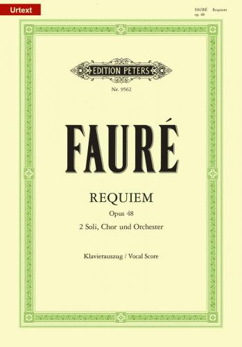 Messe de Requiem Op. 48 (Vocal Score)