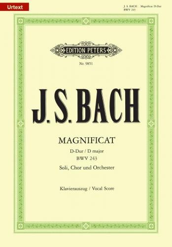 Magnificat in D BWV 243 (Vocal Score)